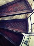 Outdoor spiral stairs by puffmint