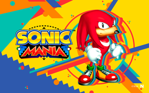 Sonic Mania - Wallpaper [Knuckles] by NathanLaurindo