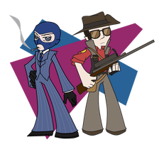 Spy and Sniper by Tsuki-no-michi