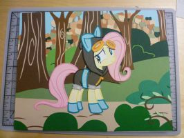 Fluttershy's Dangerous Walk in the Park by JackOfMostTrades