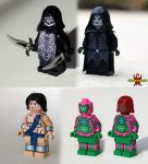 Commissioned Custom LEGO Minifigs by Saber-Scorpion
