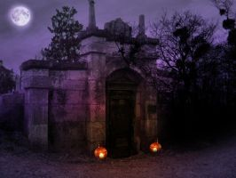 Hallow premad BG by StarsColdNight