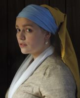 Girl with the Pearl Earring - 15 minute costume by TheMightyPegasus
