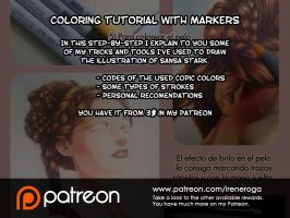 Patreon: Copic Markers Tutorial by IreneRoga