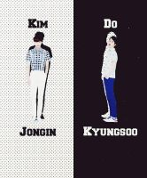 EXO Graphics. Kaisoo 3 by kamjong-kai