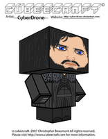Cubeecraft - Jon Snow by CyberDrone