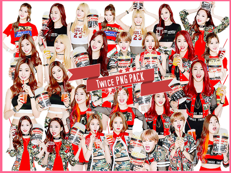 Twice [ PNG PACK ] by MeteorYu