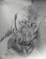 Bane drawing by DiegoE05