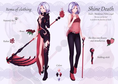 Shine Death - character design by ShineCzanek