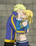 StingxLucy - Grand Magic Games Kiss by Kiko-x3