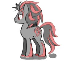 Shadow ponified by AngelofHapiness
