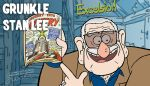 Grunkle Stan Lee by Asaph