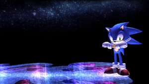 Sonic in subspace wallpaper by leonardoxy