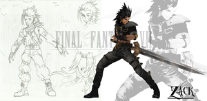 Final Fantasy EX - Binefar - Zack by 2PlayerWins