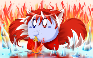 Fire and Ice by cutekirby