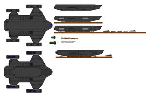 Condor Planetary Assault Ship by AresXVIII