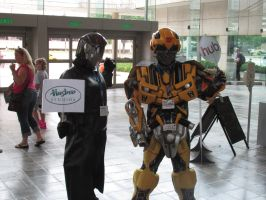 Cobra Commander and Bumble bee (Bronycon 2014) by Lucy0566