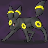 Umbreon by Trunksi