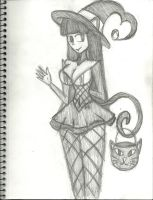 HalloweenFest 2013: Kitty Witch Lindel by InFAMOUS-Toons