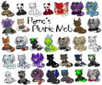 Misticpet Custom Plushies 1-32 by Akane-Flame