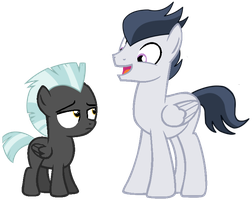 AU: Your such a funny silly Thunderlane by DreamCasterPegasus