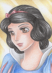 ACEO Princess Snow White by Rooro22