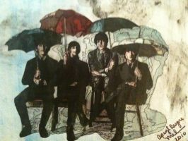 Beatles Rainy Day by art-iculate