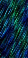Blue-N-Green Slashes [Custom Box Background] by darkdissolution
