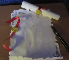 Royal letter replica by HoryPL