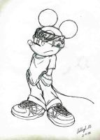 Gangster Mickey by Knuczema-the-Echidna