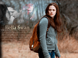 Bella Swan Wallpaper by lovegonewrong