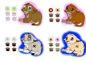 Cute Lion Babys Adoption [OPEN] by Chan98