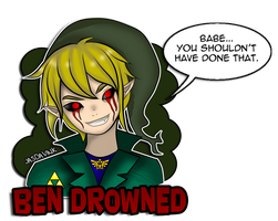 Ben Drowned by JasDavINK