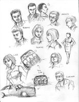 House of the Dead Sketch 2 by aellise