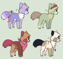 More Cat Adopts [CLOSED] by Lalaloraa