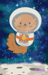 Otter Space by CosmicLabCreations