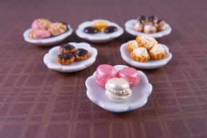 Miniature French Sweets by nyann