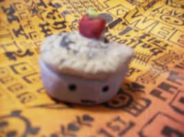 Apple Pie Clay Figure by Wolfriderxangel
