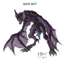 Man-Bat by JazylH