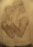 Pencil PC_ Me and You, my love by SoulOfPersephone