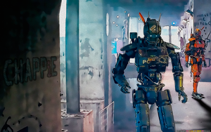 CHAPPiE AND PROTOTYPE (Film Fanart) by CSuk-1T