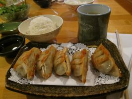 Potstickers by hardlycomplex