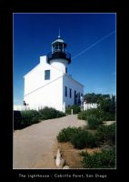 Lighthouse, Cabrillo Point by DesertFox07