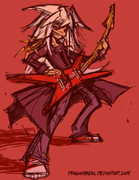 Rockin' Bakura by DragonBeak