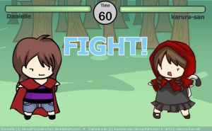 Danielle - Kurura-san: FIGHT by RainCookie