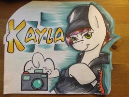 Kayla Mod Pony  Trade by CadetRedShirt