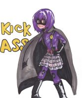 Kick Ass: Hit Girl by AnimeChi