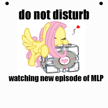 mlp do not disturb by bloxscout