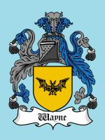 Super Clan Coat of Arms: Wayne by mattcantdraw