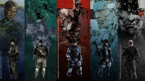 Solid Snake tribute extended by GeorgeSears1972